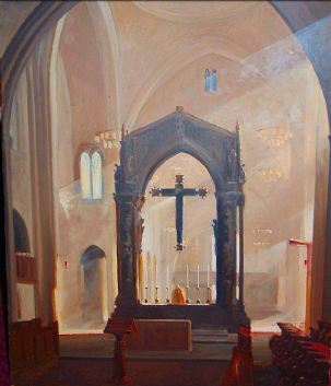 Interior, Ampleforth Abbey by Marcus May (C77)